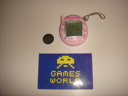 Tamagotchi V3: Pink with Hearts - Click Image to Close